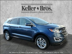 Used 2018 Ford Edge SEL SUV for sale in Lititz at Keller Bros. Ford