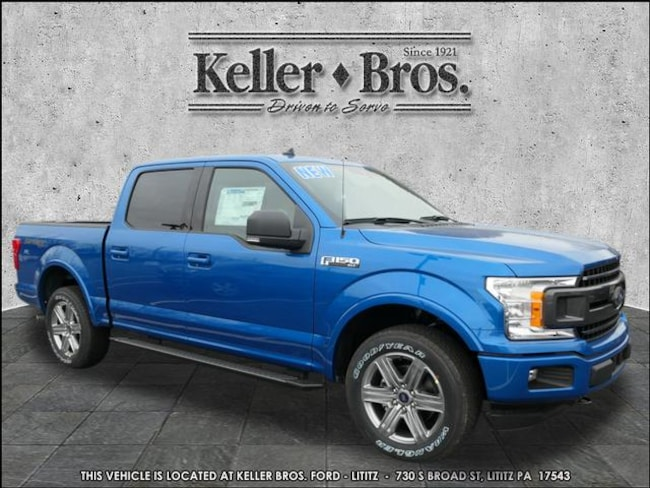 New 2019 Ford F-150 XLT Truck SuperCrew Cab in Lititz