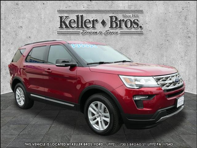 Used 2018 Ford Explorer XLT SUV for sale in Lititz at Keller Bros. Ford