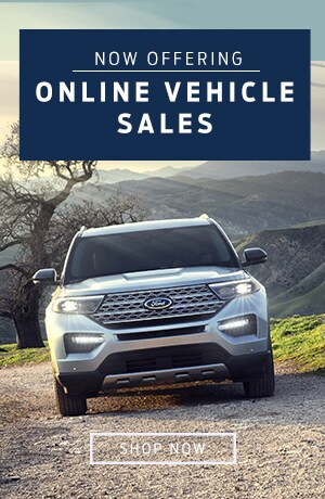 Now Offering Online Vehicle Sales