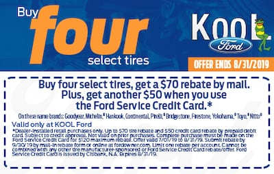 Buy 4 Select Tires