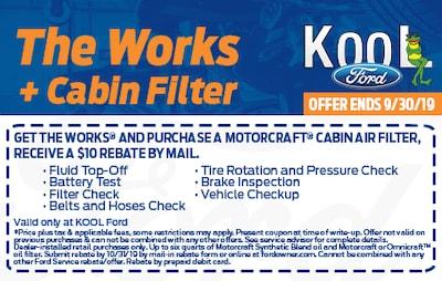 Get the Works Get a Cabin Filter