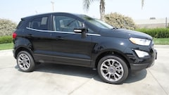 New  2018 Ford EcoSport Titanium SUV in Hanford, CA