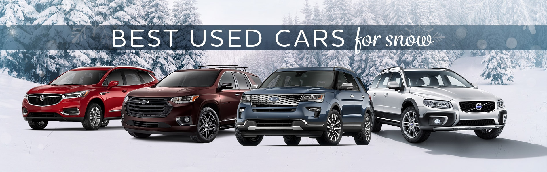 Best Used Cars For Snow | Fort Wayne, IN