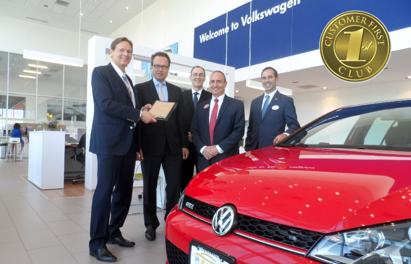 Kelly Volkswagen - Customer 1st Club 2017