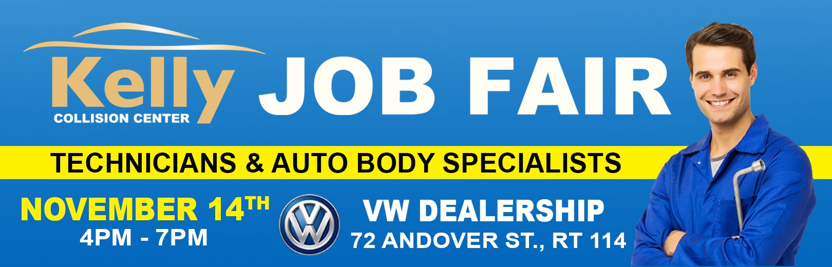 Kelly Collision Center - Job Fair | Now Hiring!