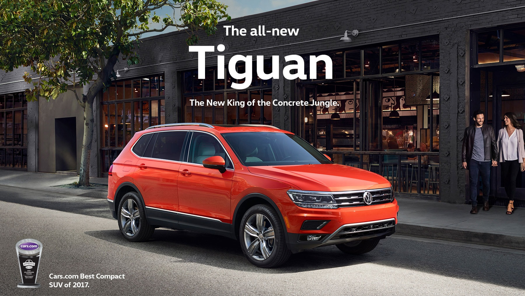 2018 Volkswagen Tiguan - King of the SUVs in 2017