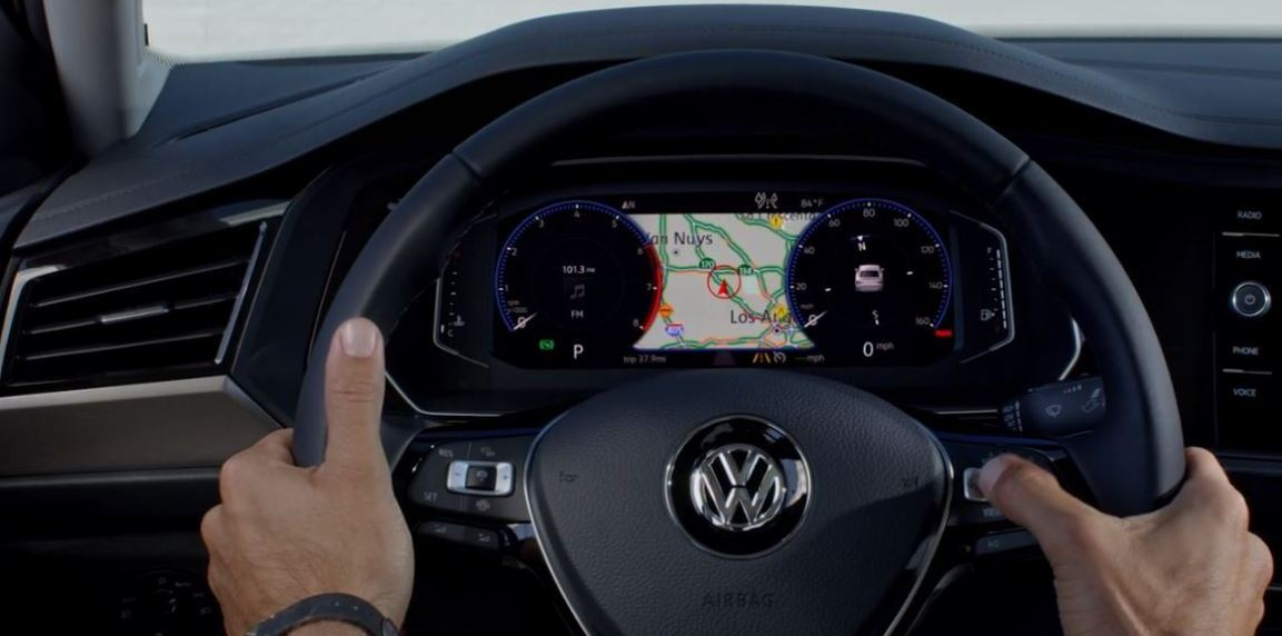 2019 VW Jetta digital cockpit
