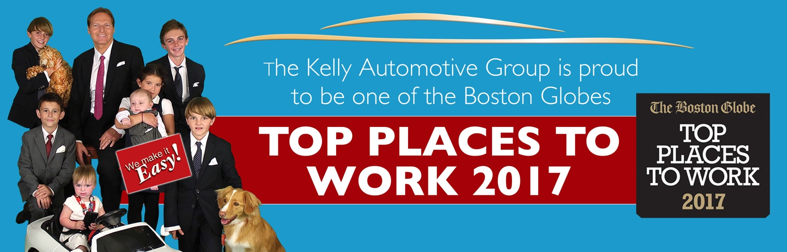 Kelly Auto Named Top Place To Work In 2017