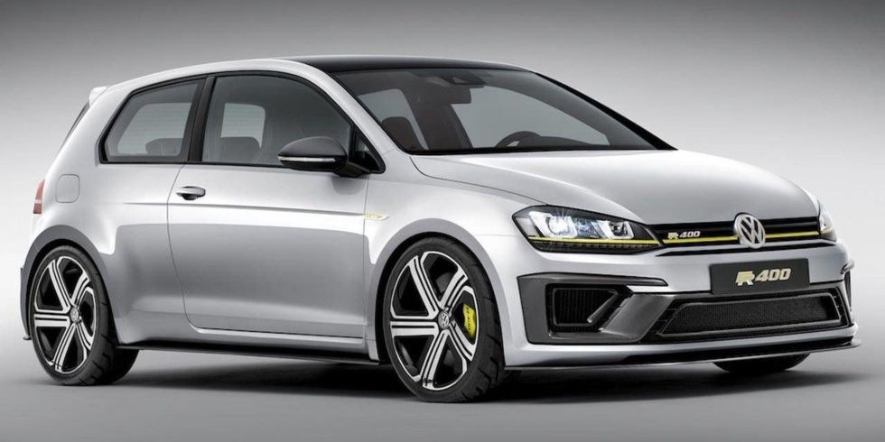 VW Golf R 400 concept sketch