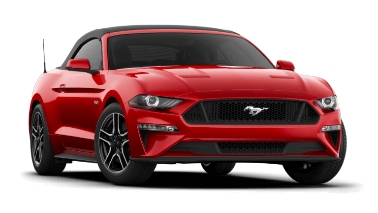 2021 Ford Mustang GT Premium Convertible - Rapid Red