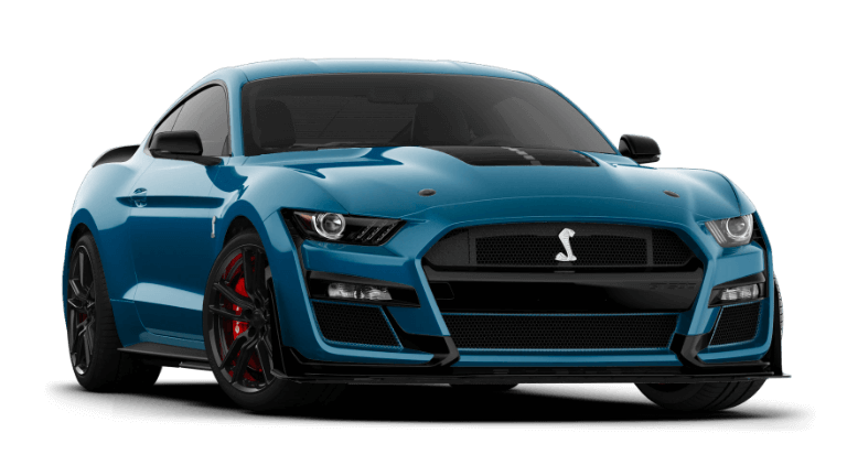2021 Ford Mustang Shelby GT500 - Ford Performance Blue