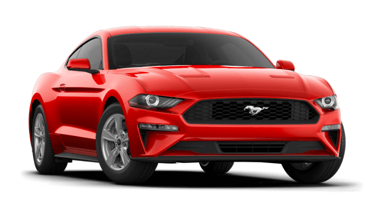 2021 Ford Mustang EcoBoost Fastback - Race Red