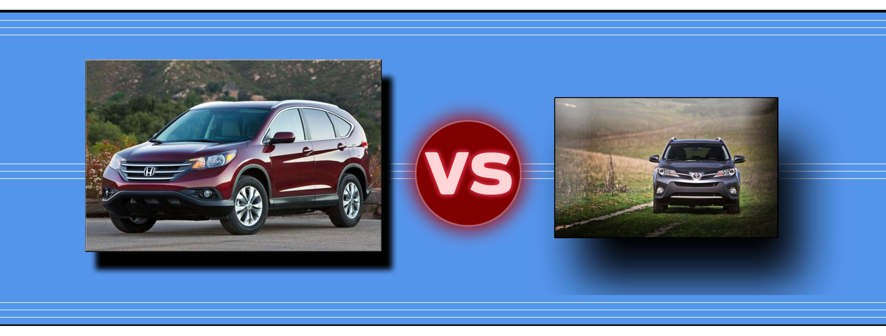 Big differences between the 2014 honda cr v and 2014 for Honda crv vs toyota rav4 2014