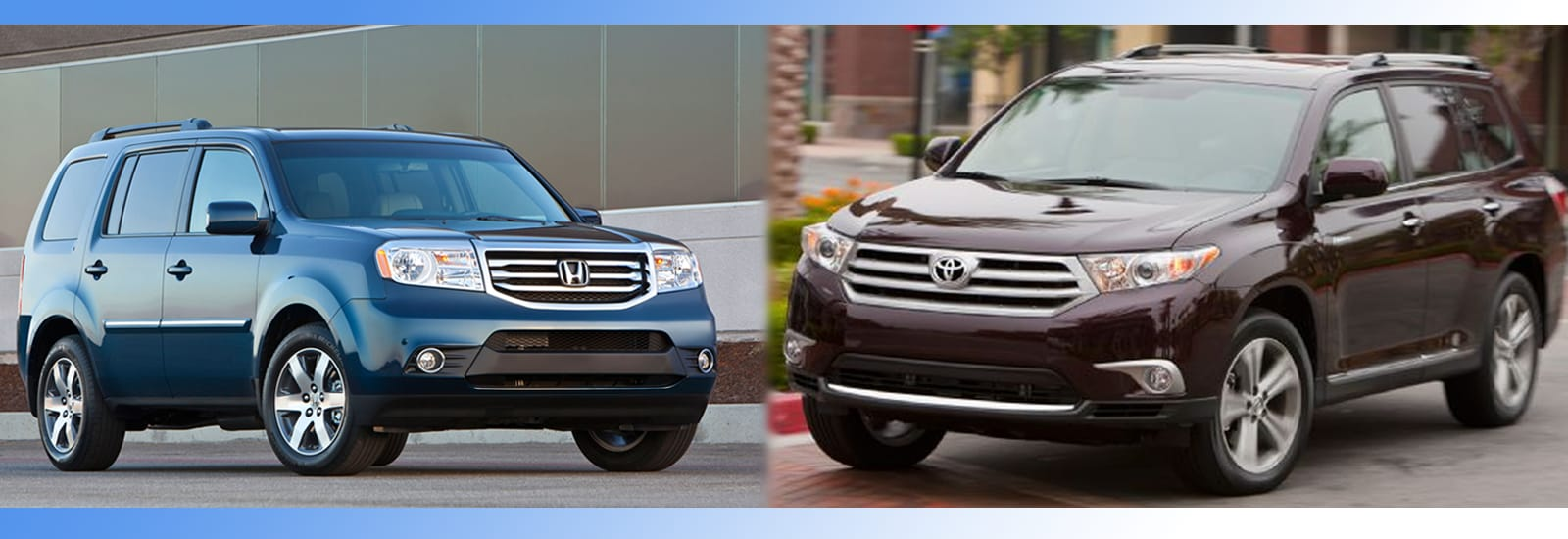 2014 honda pilot vs 2014 toyota highlander complete breakdown. Black Bedroom Furniture Sets. Home Design Ideas