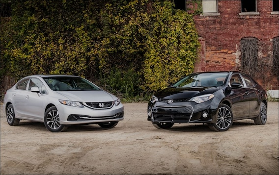 2014 Honda Civic Vs 2014 Toyota Corolla: Which Deserves Your