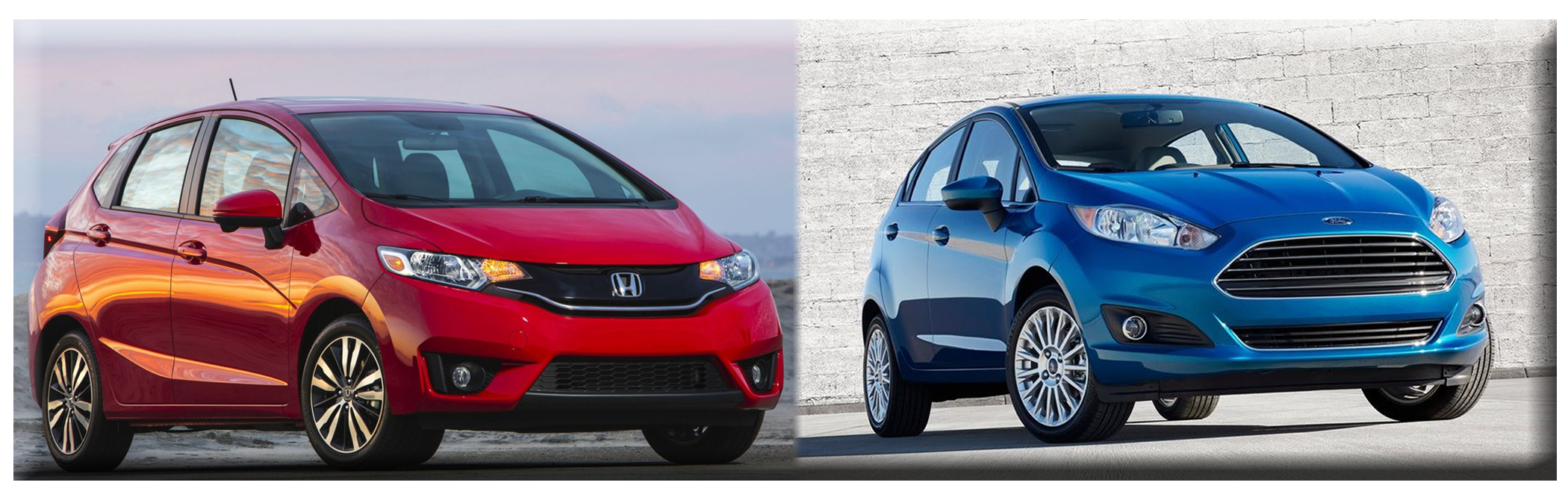 Nice 2015 Honda Fit Vs 2014 Ford Fiesta