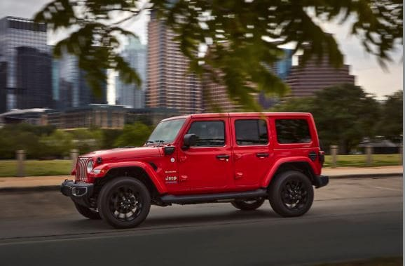2021 Jeep Wrangler 4xe Color Red