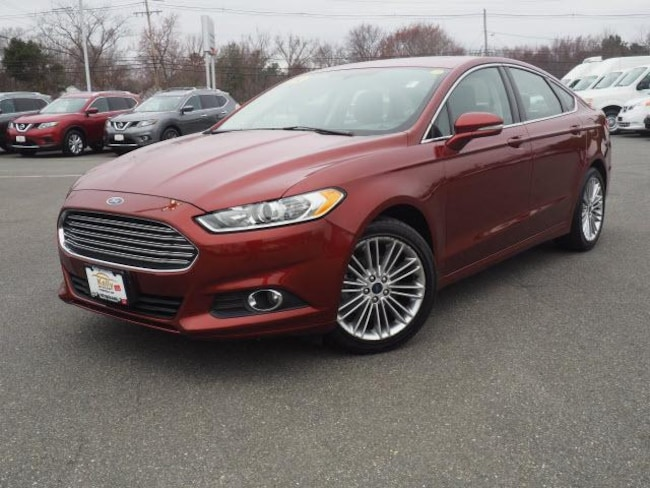 2014 Ford Fusion 4dr Sdn SE FWD 1.5 LTR Ecoboost Moonroof, Leather   Car