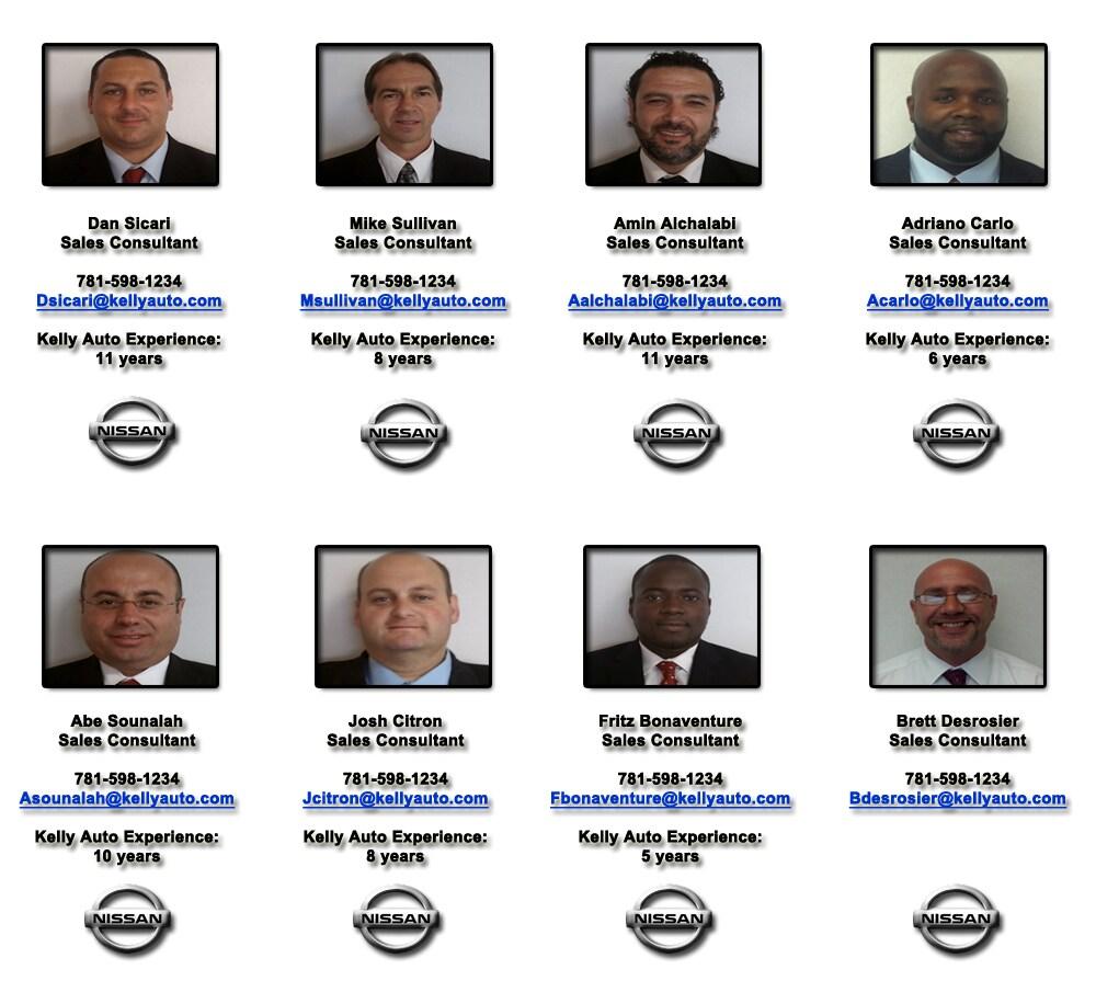 Kelly Nissan Of Lynnfield Staff. Website ...