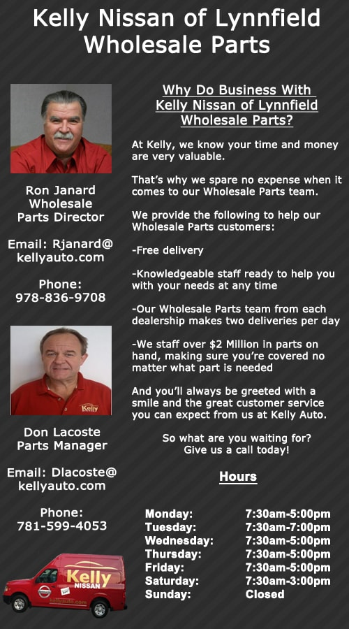 Contact. Kelly Nissan Of Lynnfield