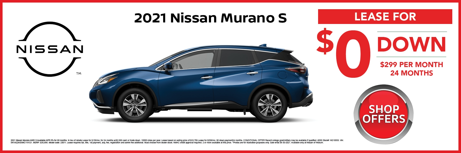 Murano S Special Offer