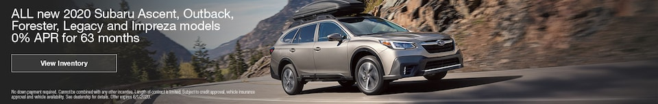 ALL new 2020 Subaru Ascent, Outback, Forester, Legacy and Impreza models