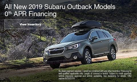 June 2019 Outback Finance Offer