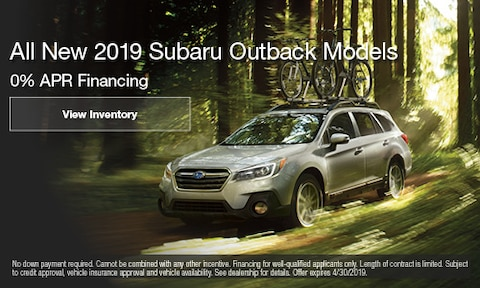 April 2019 Outback Finance Offer