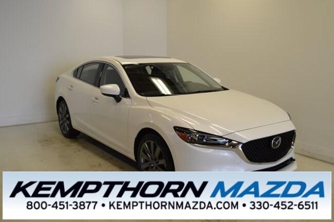 new Mazda vehicles 2019 Mazda Mazda6 Grand Touring Sedan for sale near you in Canton, OH