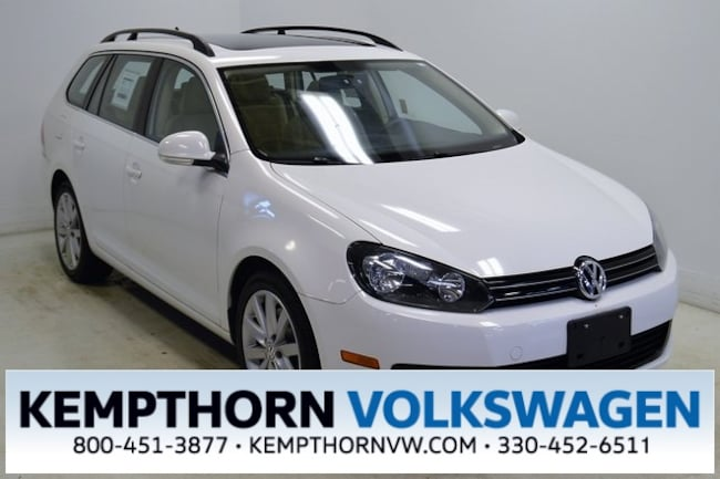 Used vehicle 2012 Volkswagen Jetta Sportwagen 2.0L TDI Wagon for sale near you in Canton, OH