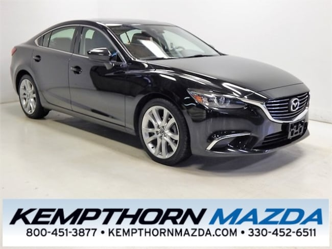 Certified pre-owned Mazda vehicles 2016 Mazda Mazda6 i Touring Sedan for sale near you in Canton, OH