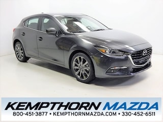 new Mazda vehicles 2018 Mazda Mazda3 Grand Touring Hatchback for sale near you in Canton, OH