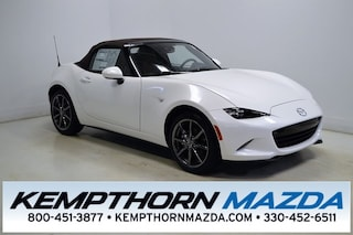 new Mazda vehicles 2019 Mazda Mazda MX-5 Miata Grand Touring Convertible for sale near you in Canton, OH