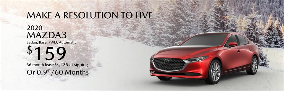 2020 Mazda3 Lease