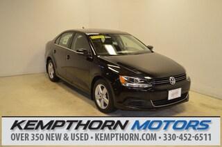 Certified Pre-Owned 2013 Volkswagen Jetta TDI Sedan for sale in Canton OH