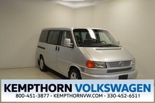 Used 2002 Volkswagen Eurovan GLS Minivan/Van for sale in Canton OH