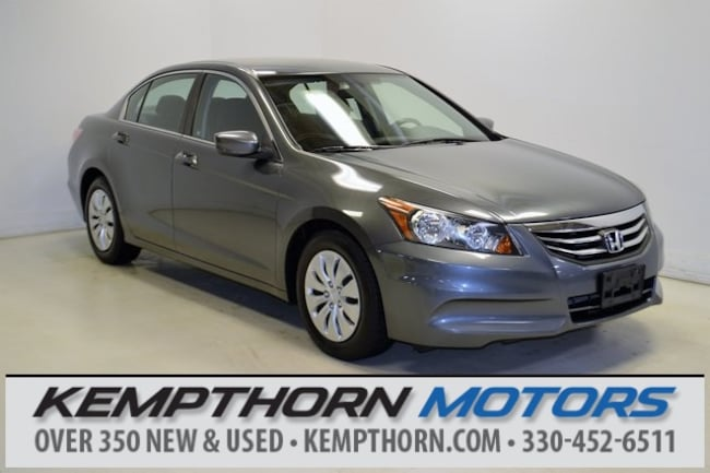 Used vehicle 2012 Honda Accord LX Sedan for sale near you in Canton, OH