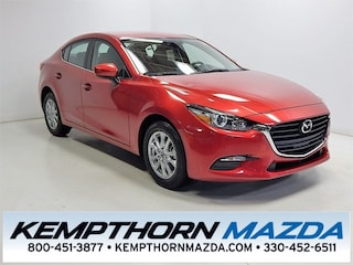 new Mazda vehicles 2018 Mazda Mazda3 Sport Sedan for sale near you in Canton, OH