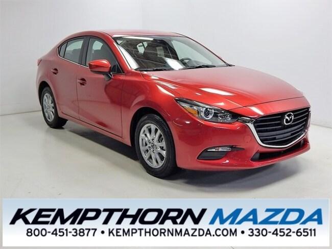 new Mazda vehicles 2018 Mazda Mazda3 Sport Sedan for sale near you in Canton, OH