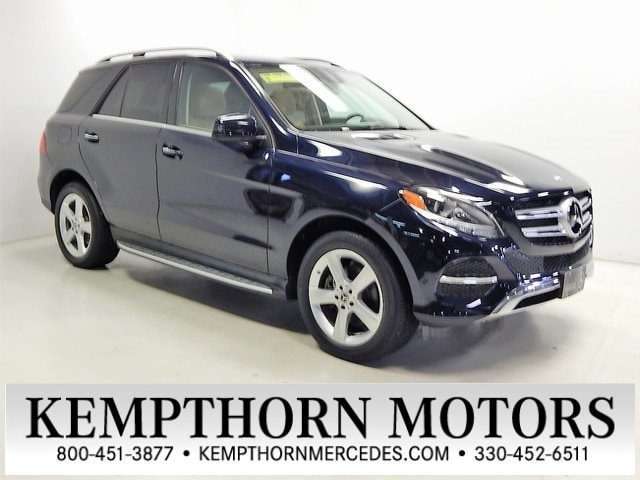 Featured pre-owned vehicles 2018 Mercedes-Benz GLE GLE 350 SUV for sale near you in Canton, OH
