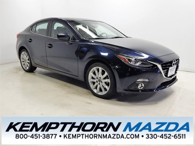 Featured pre-owned vehicles 2015 Mazda Mazda3 s Sedan for sale near you in Canton, OH