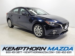 Certified pre-owned Mazda cars 2015 Mazda Mazda3 s Sedan for sale near you in Canton, OH