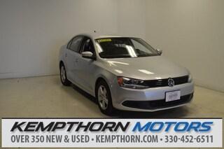 Certified Pre-Owned 2012 Volkswagen Jetta TDI Sedan for sale in Canton OH