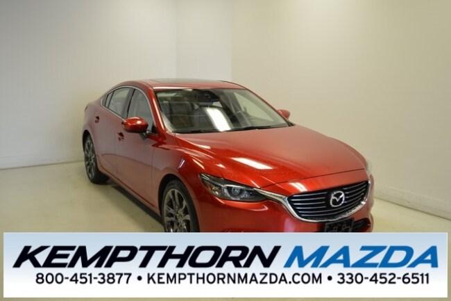 Certified pre-owned Mazda vehicles 2016 Mazda Mazda6 i Grand Touring Sedan for sale near you in Canton, OH