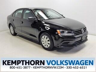 Used 2015 Volkswagen Jetta 2.0L S Sedan for sale in Canton OH