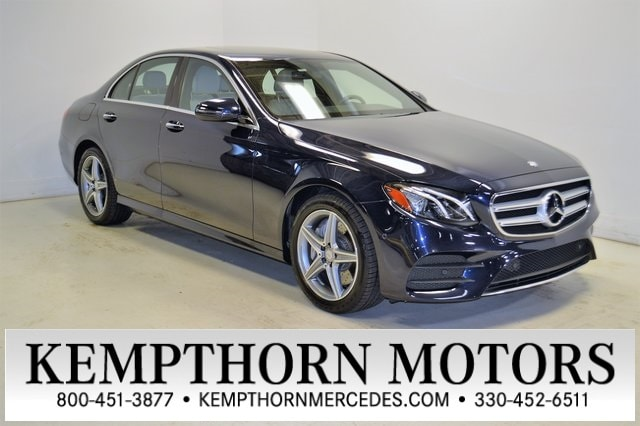 Featured pre-owned vehicles 2017 Mercedes-Benz E-Class E 300 Sedan for sale near you in Canton, OH