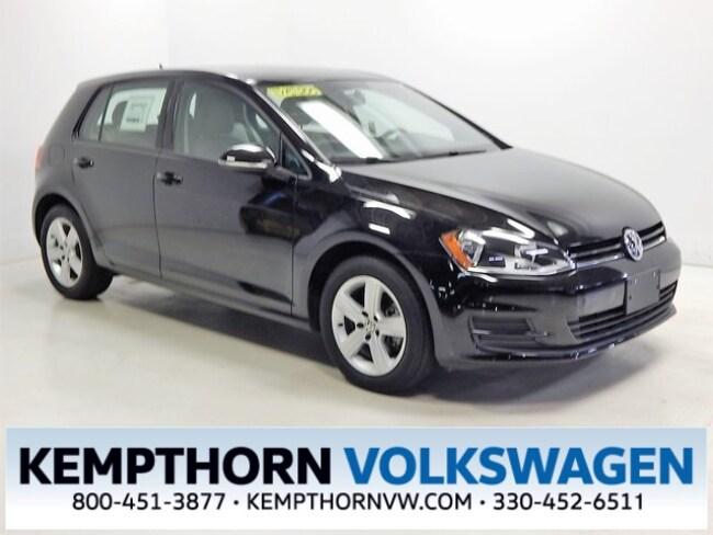 2015 Volkswagen Golf TDI S 4-Door Hatchback