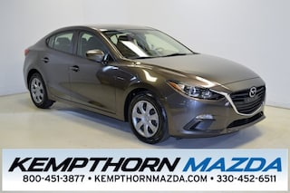 Certified pre-owned Mazda cars 2015 Mazda Mazda3 i Sedan for sale near you in Canton, OH