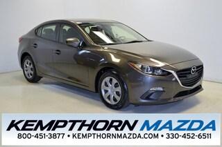 Bargain used vehicles 2015 Mazda Mazda3 i Sedan for sale near you in Canton, OH